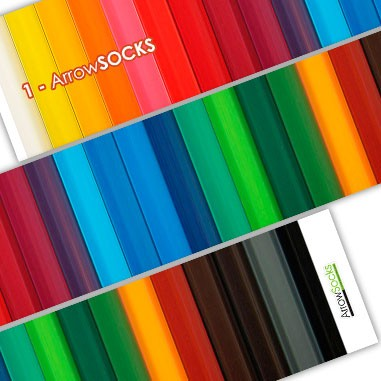 ArrowSocks Coloured Band Wraps