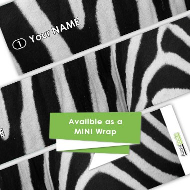 ArrowSocks Realistic Animal  Wraps - Zebra
