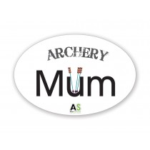 """Archery Mum"" Sticker 10cm x 15cm"