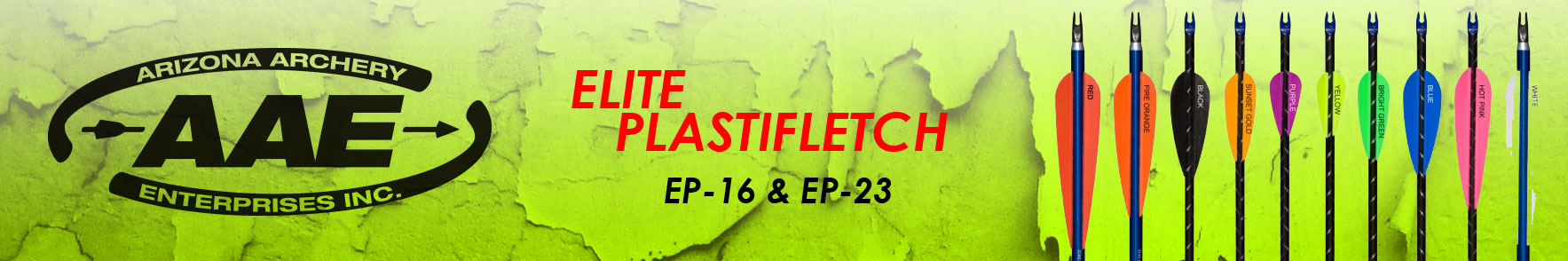 AAE Elite PLastifletch