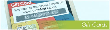 ArrowSocks Gift Cards